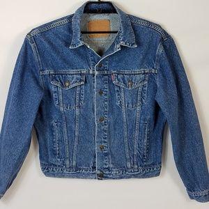 Vintage Levi's Jean Jacket Mens Clothing Size M